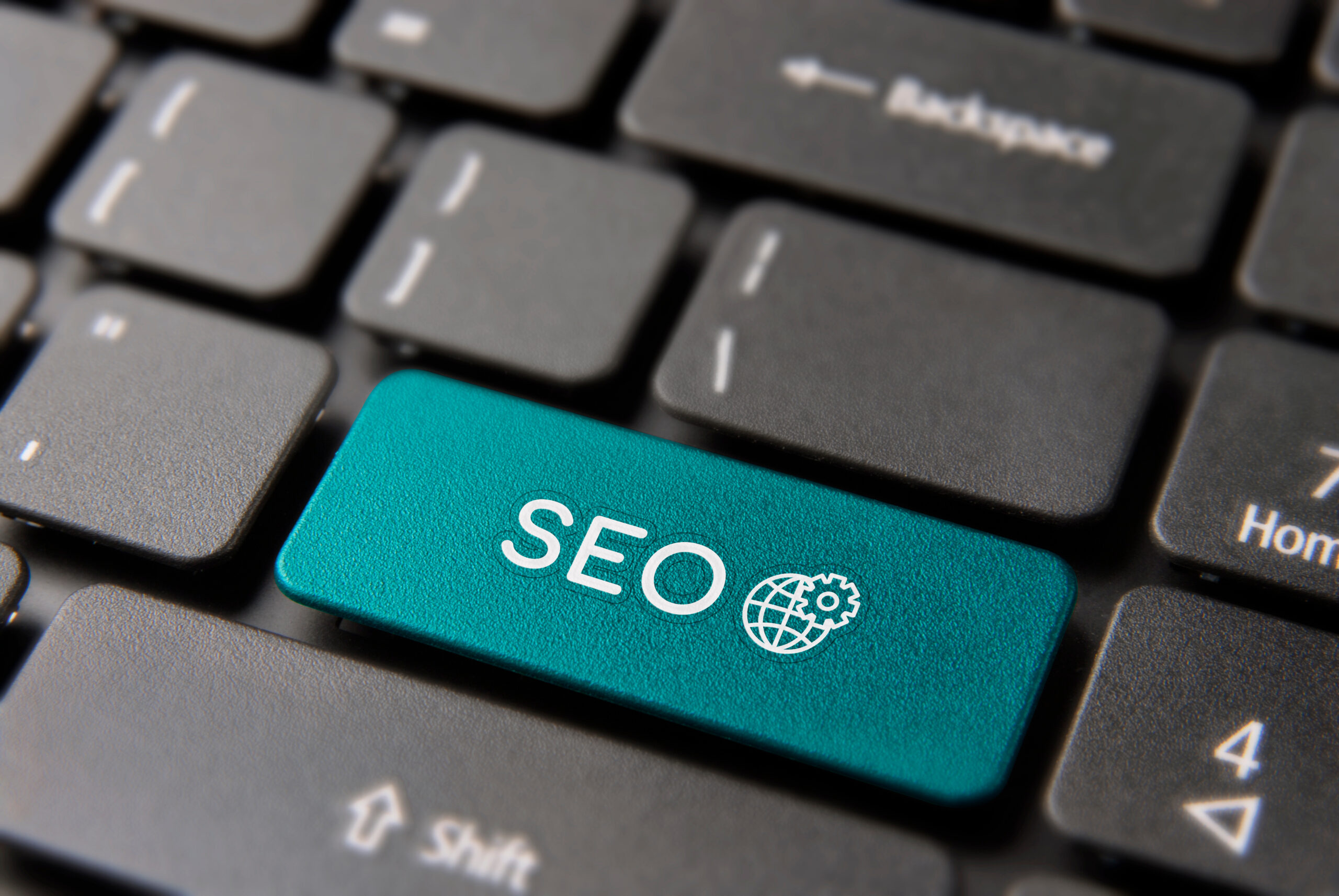 keyboard with SEO key for pay as you go websites XRF